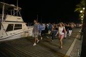 16 walking on pier