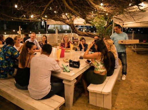 34 sit down table west deck